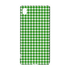 Friendly Houndstooth Pattern,green Sony Xperia Z3+