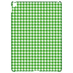 Friendly Houndstooth Pattern,green Apple Ipad Pro 12 9   Hardshell Case