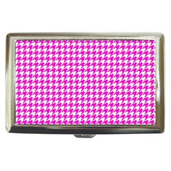 Friendly Houndstooth Pattern,pink Cigarette Money Cases