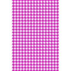 Friendly Houndstooth Pattern,pink 5 5  X 8 5  Notebooks