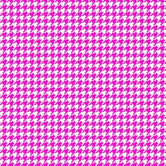 Friendly Houndstooth Pattern,pink Magic Photo Cubes