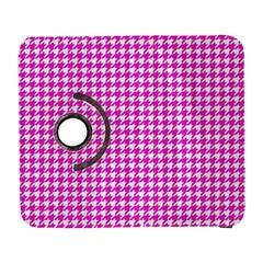 Friendly Houndstooth Pattern,pink Galaxy S3 (flip/folio)