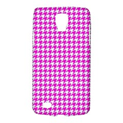 Friendly Houndstooth Pattern,pink Galaxy S4 Active