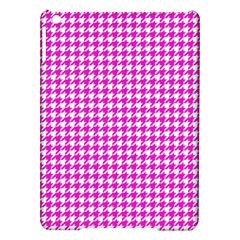 Friendly Houndstooth Pattern,pink Ipad Air Hardshell Cases