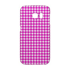 Friendly Houndstooth Pattern,pink Galaxy S6 Edge