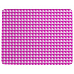 Friendly Houndstooth Pattern,pink Jigsaw Puzzle Photo Stand (rectangular)