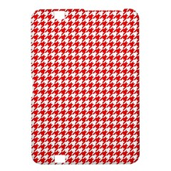 Friendly Houndstooth Pattern,red Kindle Fire Hd 8 9
