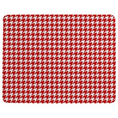 Friendly Houndstooth Pattern,red Jigsaw Puzzle Photo Stand (rectangular)