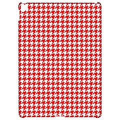 Friendly Houndstooth Pattern,red Apple Ipad Pro 12 9   Hardshell Case