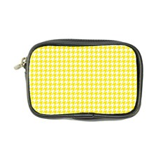 Friendly Houndstooth Pattern,yellow Coin Purse