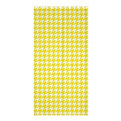 Friendly Houndstooth Pattern,yellow Shower Curtain 36  X 72  (stall)