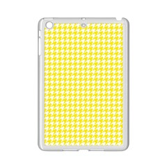 Friendly Houndstooth Pattern,yellow Ipad Mini 2 Enamel Coated Cases