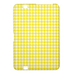 Friendly Houndstooth Pattern,yellow Kindle Fire Hd 8 9