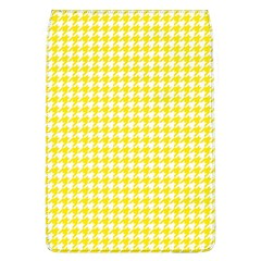 Friendly Houndstooth Pattern,yellow Flap Covers (l)