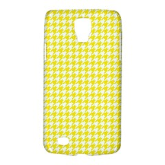 Friendly Houndstooth Pattern,yellow Galaxy S4 Active