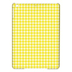 Friendly Houndstooth Pattern,yellow Ipad Air Hardshell Cases