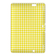 Friendly Houndstooth Pattern,yellow Kindle Fire Hdx 8 9  Hardshell Case
