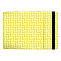 Friendly Houndstooth Pattern,yellow Samsung Galaxy Tab Pro 10 1  Flip Case