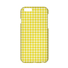 Friendly Houndstooth Pattern,yellow Apple Iphone 6/6s Hardshell Case