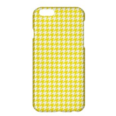 Friendly Houndstooth Pattern,yellow Apple Iphone 6 Plus/6s Plus Hardshell Case