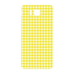 Friendly Houndstooth Pattern,yellow Samsung Galaxy Alpha Hardshell Back Case
