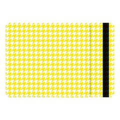 Friendly Houndstooth Pattern,yellow Apple Ipad Pro 10 5   Flip Case