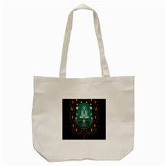 Temple Of Yoga In Light Peace And Human Namaste Style Tote Bag (cream)