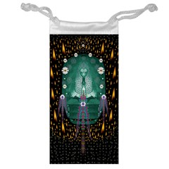 Temple Of Yoga In Light Peace And Human Namaste Style Jewelry Bag