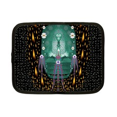 Temple Of Yoga In Light Peace And Human Namaste Style Netbook Case (small)