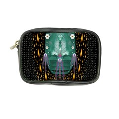 Temple Of Yoga In Light Peace And Human Namaste Style Coin Purse