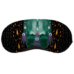 Temple Of Yoga In Light Peace And Human Namaste Style Sleeping Masks