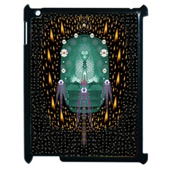 Temple Of Yoga In Light Peace And Human Namaste Style Apple Ipad 2 Case (black)