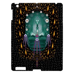 Temple Of Yoga In Light Peace And Human Namaste Style Apple Ipad 3/4 Hardshell Case