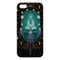 Temple Of Yoga In Light Peace And Human Namaste Style Apple Iphone 5 Premium Hardshell Case