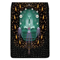 Temple Of Yoga In Light Peace And Human Namaste Style Flap Covers (s)