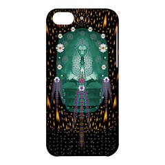 Temple Of Yoga In Light Peace And Human Namaste Style Apple Iphone 5c Hardshell Case