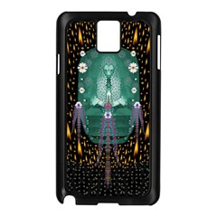 Temple Of Yoga In Light Peace And Human Namaste Style Samsung Galaxy Note 3 N9005 Case (black)