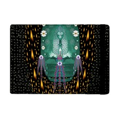 Temple Of Yoga In Light Peace And Human Namaste Style Ipad Mini 2 Flip Cases
