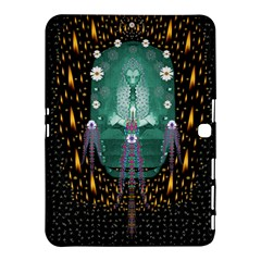 Temple Of Yoga In Light Peace And Human Namaste Style Samsung Galaxy Tab 4 (10 1 ) Hardshell Case