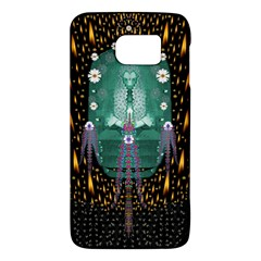Temple Of Yoga In Light Peace And Human Namaste Style Galaxy S6