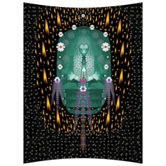 Temple Of Yoga In Light Peace And Human Namaste Style Back Support Cushion