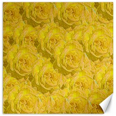 Summer Yellow Roses Dancing In The Season Canvas 12  X 12