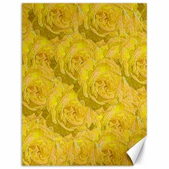 Summer Yellow Roses Dancing In The Season Canvas 18  X 24