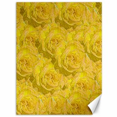 Summer Yellow Roses Dancing In The Season Canvas 36  X 48