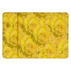 Summer Yellow Roses Dancing In The Season Samsung Galaxy Tab 8 9  P7300 Flip Case