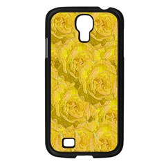 Summer Yellow Roses Dancing In The Season Samsung Galaxy S4 I9500/ I9505 Case (black)