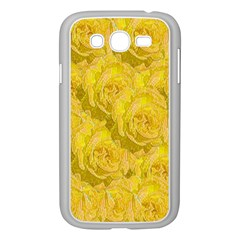Summer Yellow Roses Dancing In The Season Samsung Galaxy Grand Duos I9082 Case (white)