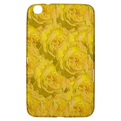 Summer Yellow Roses Dancing In The Season Samsung Galaxy Tab 3 (8 ) T3100 Hardshell Case