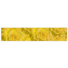 Summer Yellow Roses Dancing In The Season Flano Scarf (small)