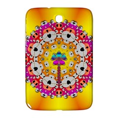 Fantasy Flower In Tones Samsung Galaxy Note 8 0 N5100 Hardshell Case